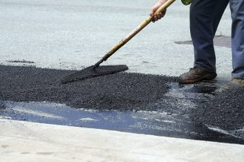 Pothole Repair, Crack Fills, Asphalt Repair in Chesterfield County