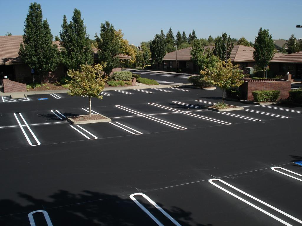 Parking Lot Striping in Chesterfield County, ADA Parking lot Compliance, Fire Land Striping, Handicap Parking